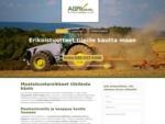 Kun tarvitset maataloustarvikkeita, soita Agripalvelu Antti Kangas Oyn numeroon. Kauttamme on tila