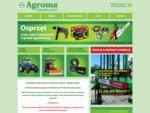Nasza firma oferuje ciągniki rolnicze, kosiarki i maszyny komunalne. Oferta firmy to poza tym serw