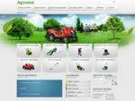 Agroma - kosiarki trawnikowe, pilarki łańcuchowe, traktorki ogrodowe, kosy spalinowe, glebogryza