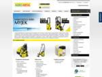 Karcher Sklep, karcher, myjki ciśnieniowe karcher, odkurzacz karcher - Agrometal-Karcher