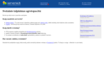 agrotopas. biz - Svetainės talpinimas - Serveriai. lt