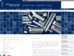 Aluminijski okvirji - AHA EMMI, predelava aluminija in lesa, d. d.