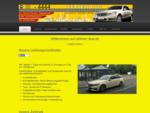 Ahlener Taxi für Kurierfahrten, Krankenfahrten für Dialyse Patienten