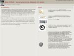 Firma Johan Åhlfeldt webprogrammering och design