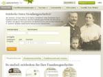 Ahnenforschung, Stammbaum und familiengeschichtliche Aufzeichnungen auf Ancestry. de