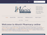 Ahuriri Pharmacy | New Zealand online chemist for wellbeing, gifts and cosmetics. Buy supplements