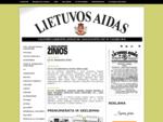 Lietuvos Aidas - Valstybės laikraštis