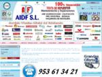 Recambios, Repuestos, Mantenimiento y Reparaciones. - AIDF S. L. - 953613421