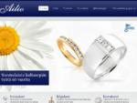 Ailio - Suomalaista käsityötä - timanttisormus - vihkisormus - kultakorut - Etusivu