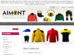 Bluzy polarowe - AIMONT Odzież reklamowa koszulki polo producent polary bluzy haft nadruki czapki re