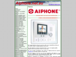 AIPHONE INTERCOM SALES, INSTALLATION, SERVICE. TRADE PUBLIC SUPPLIED. COLOUR VIDEO HANDSFREE A