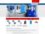 Serwis i sprzedaż sprężarek śrubowych Airpol i innych, dobór systemów filtracji i uzdatniania spręż