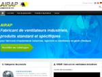 Ventilateurs industriels - AIRAP