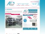 AirAzur Distribution vente matériel climatisation, ventilation chauffage aux professionnels, génie