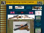 Κυνήγι στην Κύπρο Αεροβόλα και όπλα.