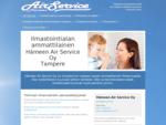 ilmastointi, ilmanvaihto, Tampere, Hämeen Air Service