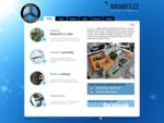 Letecké snímkování z dálkově řízeného nosiče, tvorba virtuálních prohlídek a webových stránek.