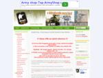 Airsoft Army shop | Airsoft zbraně a příslušenství a army obchod