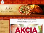 Vitajte na webovej stránke Pizzerie AJAX Nové Zámky
