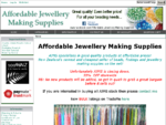 Affordable Jewellery Making Supplies!, AJMS specialises in good quality products at affordable ..
