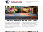 Australian Karate Academy -- Quality Karate and Martial Arts in Brisbane