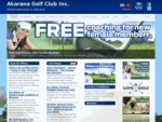 Home Page Akarana Golf Club
