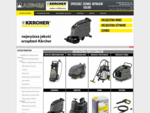 Sprzedaż, wynajem i serwis urządzeń Kärcher. W ofercie pompy ogrodowe, myjki wysokociśnieniowe,