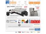 Tienda de muebles online, comprar sofás, salón y dormitorio