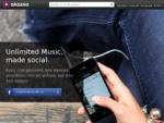 Απεριόριστη μουσική streaming – Akazoo
