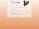 Akton Grupp - Firmast