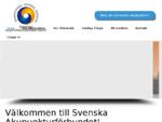 Svenska Akupunkturförbundet - Traditionell Kinesisk Medicin