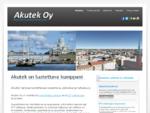 Akutek Oy, isännöintipalveluja