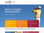 Akutklinik Urbachtal Psychosomatik