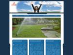 Akvamatik Novi Sad - zalivni sistemi - navodnjavanje travnjaka - centralni usisivač - osveživači