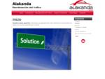 . Alakanda. Descripción de la web
