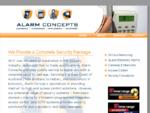 Alarm Concepts Home