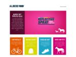 Albedo100 Reflective Spray - Be Safe, Be Seen