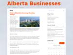Alberta Businesses - Alberta Business Directory
