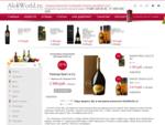 Продажа дорогого элитного алкоголя, магазин спиртного, виски, шампанское, коньяк