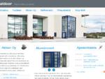 Alumiiniovet, alumiini-ikkunat | Aldoor Oy