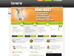 Sveriges vänligaste webbhotell - Binero