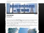 Szklarz Warszaw – usług szklarskie związane ze szkłem, cięciem szkła.