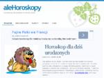 Horoskop - wróżby, przepowiednie, alehoroskopy. pl - Horoskop na 2013
