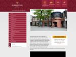 Alates 2002. aasta juunikuust on avatud Aleksandri hotell Aleksandri tänaval Tartu südames.