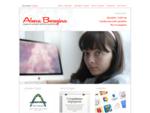 Персональный сайт дизайнера Алены Березиной