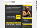 Consulente web marketing e marketing Napoli | Alessandro Mazzù