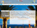 Alexandra Beach Thassos Spa Resort, Hotels in Thassos, Thassos Island Greece, Accommodation in ...