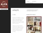 ALFA - zákazková výroba nábytku