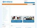 Alfa Display, Velkommen til vår nettbutikk