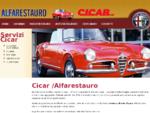 Alfarestauro - Cimarelli restauro Alfa Romeo Giulietta ed altre auto d'epoca officina Alfarestauro